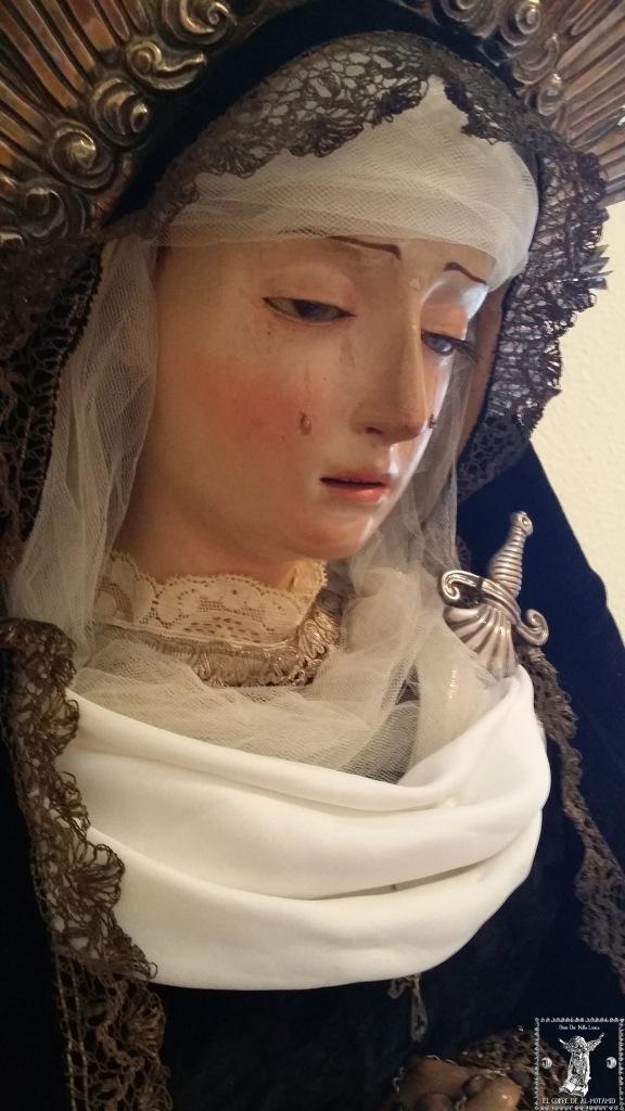 Ntrª Srª de la Soledad. Anónimo s. XVIII. Colección privada.