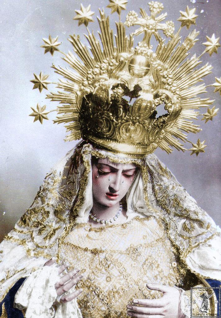 Virgen de las Angustias. José Montes de Oca (atribución).