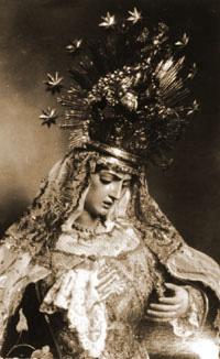 Virgen de las Angustias. José Montes de Oca, 1738 (atribución).