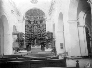 Nave central de Santo Domingo