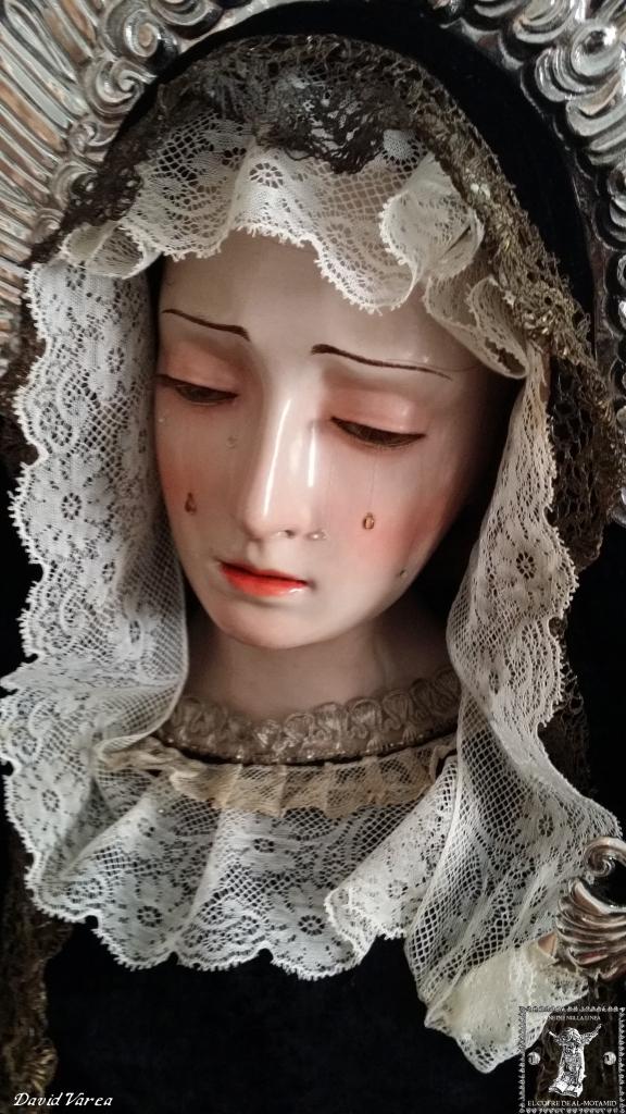 Virgen de la Soledad obra de Antonio del Castillo.