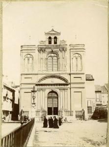La desaparecida Iglesia de la Merced a comienzos del siglo XX.