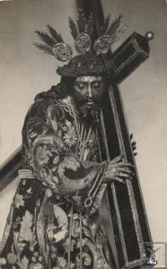 El Nazareno de Roldán con la túnica de las Antúnez y Beltrán.