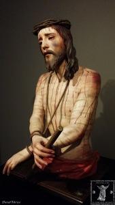 Ecce-Homo del Císter esculpido por Pedro de Mena en 1675.