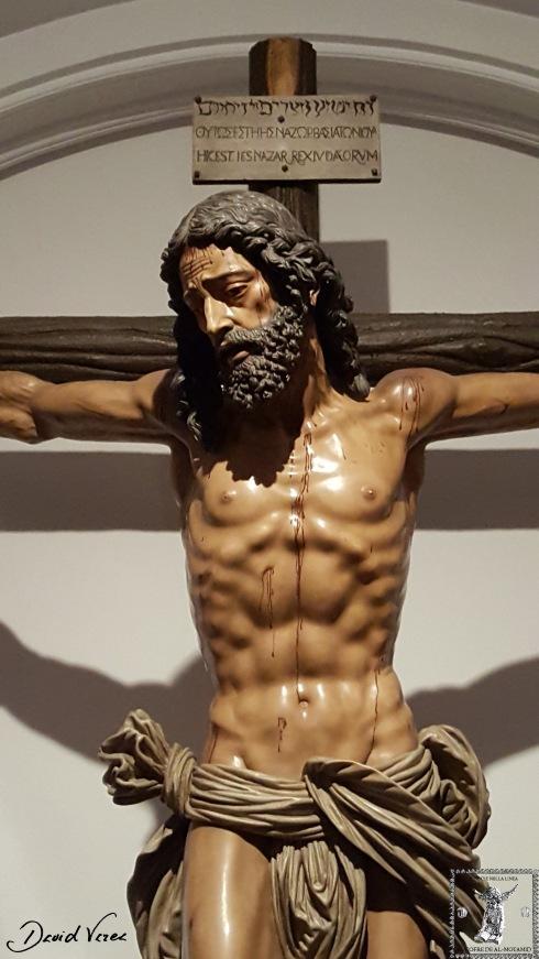 Crucificado del Gran Amor. Luis Álvarez Duarte, 1978. Iglesia de Santa Ana (Císter)