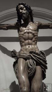 Crucificado del Gran Amor tallado por Álvarez Duarte en 1978.