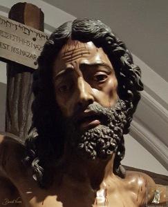Cristo del Gran Amor y Esperanza (detalle)