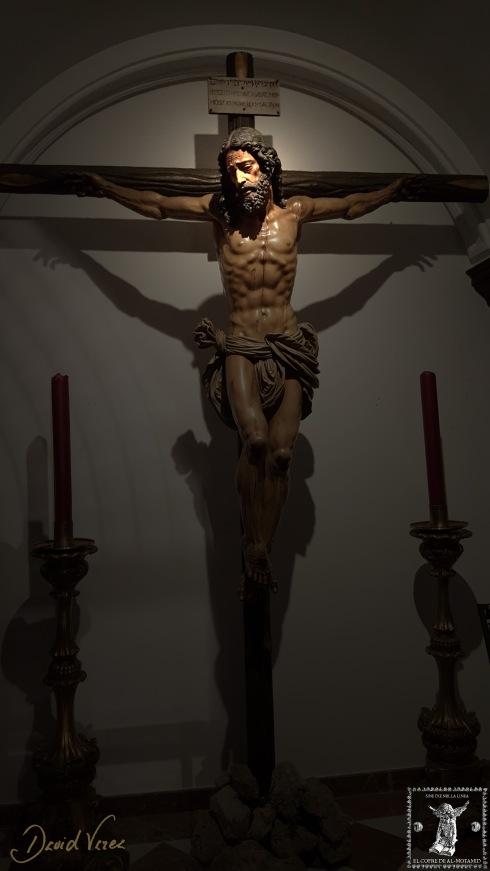 Cristo del Gran Amor en su lugar de culto actual.