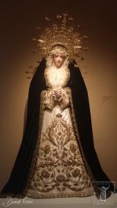 Vista completa de la actual morfología de la Virgen de los Dolores del Císter.