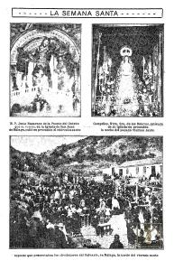 La Unión Ilustrada informó acerca de la Semana Santa local e incluso de la provincia desde sus inicios (3-4-1910). (Foto: Archivo Díaz de Escovar)