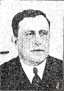 Francisco Sánchez, redactor-fotógrafo de Las Uniones y autor de las fotografías de las cofradías en 1922. (Foto: La Unión Ilustrada)