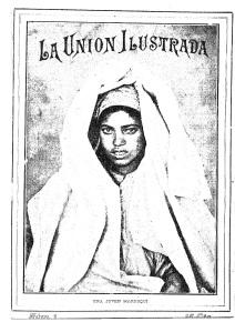 Portada del primer número del semanario gráfico La Unión Ilustrada que vio la luz el 5 de septiembre de 1909. (Biblioteca Nacional de España)